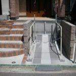 外構工事で昇降機(リフトを設置)