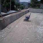 駐車場コンクリート舗装ビフォーアフター