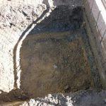 四日市でカーポート 三協立山フォーグを施工、基礎掘り方完了