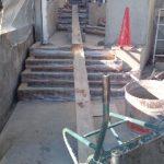 名古屋 庭 スタンプコンクリート ディズニーランド化計画パート3 ヴィンテージウッド