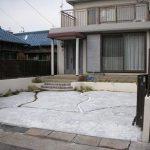 名古屋 西区 外構リフォーム現場完了しました。