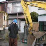 名古屋 北区 解体工事 外構リフォームパート3