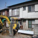 名古屋市 北区 外構リフォーム 解体工事パート4