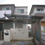 新築外構 北 名古屋市でTOEX(トエックス)アーキフィットをつけました。