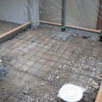 名古屋市 中村区で外構工事 TOEX(トエックス)ココマ施工床コンクリート打ち