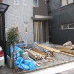 名古屋市 中村区 駐車場スタンプコンクリート