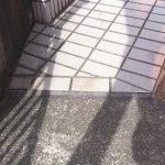 北名古屋市 スロープの段差をなくす!