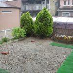 名古屋市 西区で物置とリガーデン(庭のリフォーム)