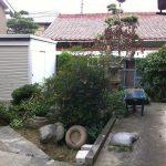 名古屋市 西区 植栽伐採 物置工事