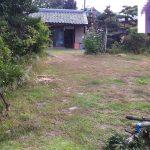 名古屋市 西区 お庭のリフォーム スタンプで大きな石が埋まったように表現!