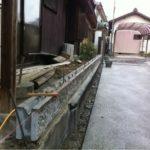 名古屋西区でブロック工事