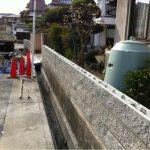 名古屋市西区化粧ブロック積み 完了!
