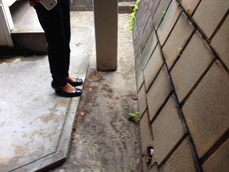 名古屋市瑞穂区アパートモルタル造形アパート改修【ビフォー】#8