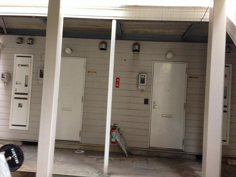 名古屋市瑞穂区アパートモルタル造形アパート改修【ビフォー】