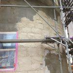 知多市輸入住宅 モルタル造形石積み