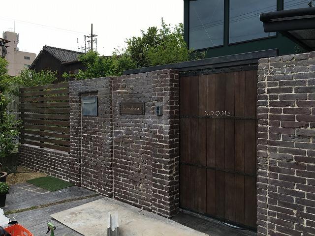 名古屋南区 外構 お庭のリフォーム ブルックリンスタイル BrooklynStyle 4