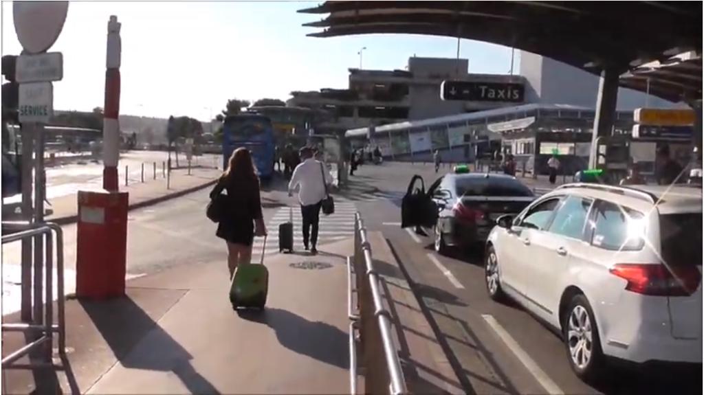 南フランス マルセイユ空港